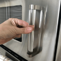 Clear Crystal D Shape Cabinet Door Pulls