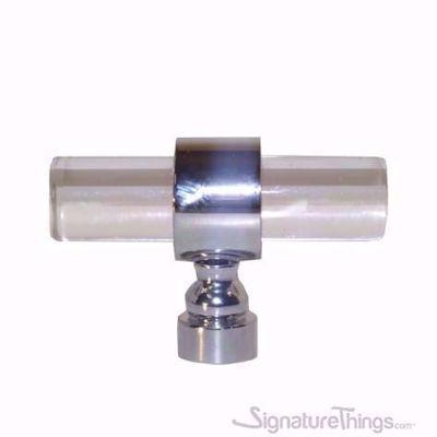 "Traditional Plain Ring Lucite Pulls - 1/2"" Dia"