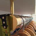 Standard Rod End Bracket - Closet Rod End Support