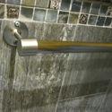 Brass Standard Rod End Bracket - Closet Rod End Support, Curtain Rod Support