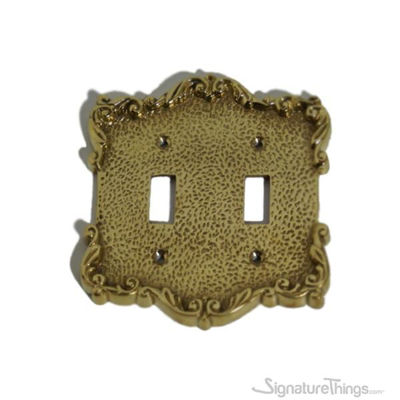 French Design Switch Plate - Double toggle