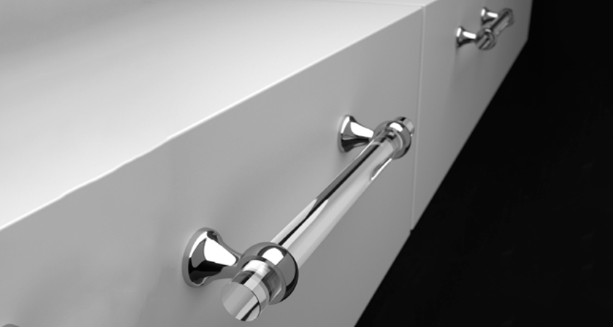 Re-Creating the Perfect Kitchen or Bathroom with Brass Lucite Hardware