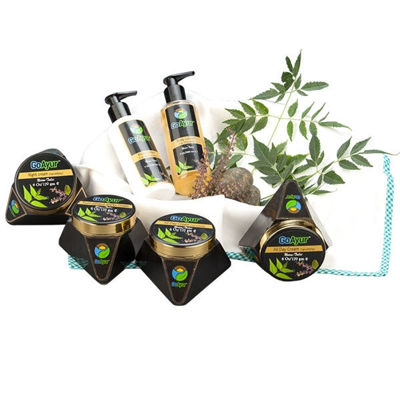 SignatureThings.com Brass Hardware GoAyur Neem – Tulsi Complete Body Pack