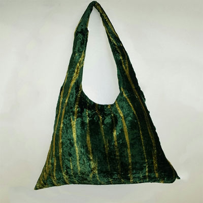 SignatureThings.com Brass Hardware Green Tiger Hobo