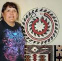 Navajo Horse basket