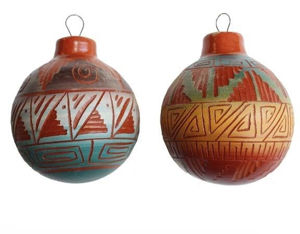 Etchware Pottery Ornaments - Navajo Crafts | Native American Arts | Native American Crafts For Sale | Navajo Pottery Ornaments | Native American Pottery | Native American Paintings | Navajo Sand Paintings | Authentic Native American Products | SignatureThings.com
