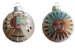 Sandpainted Ornament