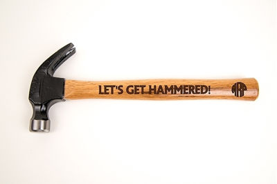Personalized Engraved Hammer - Custom Wood Handle, Men's Gifts