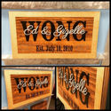 Family Established Sign - Rustic Wood, Last Name Wall Decor