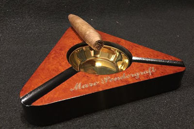 Cigar Ashtray - Custom Engraved Ashtray, Personalized Gifts For Men | Custom Cigar Humidors | Best Cigar Box | Personalized Gifts Ideas | Groomsmen Gifts Ideas | Christmas Gifts Ideas For Men | SignatureThings.com