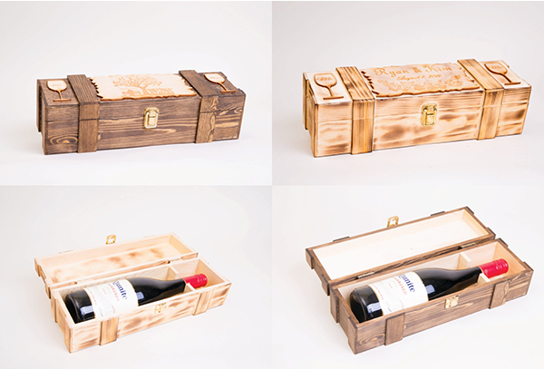 Engraved Personalized  - Ceremony Wine Box - Personalized Gift Box | Personalized gift Ideas | Engraved Gift Boxes | Christmas Gift Ideas | Holiday Gifts Ideas | Personalized Wooden Gift Box | Keepsake Gifts Box | Memory Box | Personalized Watch Box | Watch Box | Sunglass Storage Case | SignatureThings.com