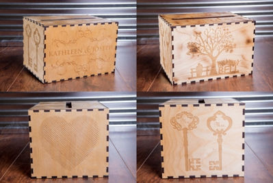 Rustic Memory Wood Card Box - Personalized Wedding Card Box - Family Established Sign | Business Established Sign | Rustic Wood Name Sign | Last Name Signs | Wall Decor Name Sign | Wooden Cabin Sign | Ceremony Sign | Personalized Welcome Sign | Keepsake Box | Wooden Wedding Card Box | Rustic Wedding Card Box | Personalized gift Ideas | Engraved Gift Ideas | Christmas Gift Ideas | Holiday Gifts Ideas | SignatureThings.com