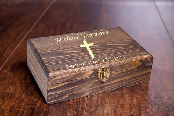 2 First Holy Communion Gift Box - Personalized Keepsakes ...