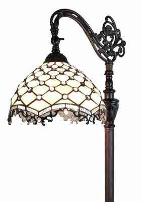 Jeweled Reading Floor Lamp 62 In