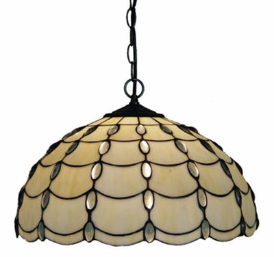 Tiffany Style Cascade Pendant Lamp, 16-inch - Tiffany Style Ceiling Lamps | Stained Glass Ceiling Lamps | tiffany ceiling lamps | ceiling lights | living room ceiling lights | bedroom ceiling lights lamps | antique tiffany chandelier | Decorative Ceiling Lamps | SignatureThings.com