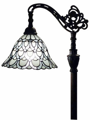 Tiffany Style Floor Lamp 62 In Adjustable Shade - Tiffany Style Floor Lamps | Stained Glass Floor Lamps | tiffany floor lamps | modern floor lamps | contemporary floor lamps | floor standing lamps | unusual floor lamps |  designer floor lamps | crystal floor lamp | living room floor lamps | SignatureThings.com