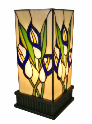 Tiffany Style Floral Table Lamp 12 High - Tiffany Style Table Lamps | Stained Glass Table Lamps | Tiffany Table Lamps | Decorative Table Lamps | tiffany table lamps | Stained Glass Table Lamps | table lamps for living room | Reading Table Lamps | crystal table lamps | tiffany style lamp shades | SignatureThings.com