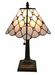 24 Inches Tall Tiffany Style Floral Table Lamp