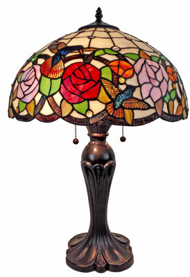 Tiffany Style Table Lamp - Tiffany Style Table Lamps | Stained Glass Table Lamps | Tiffany Table Lamps | Decorative Table Lamps | tiffany table lamps | Stained Glass Table Lamps | table lamps for living room | Reading Table Lamps | crystal table lamps | tiffany style lamp shades | SignatureThings.com