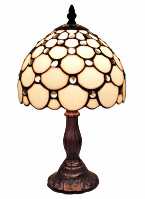 Tiffany Style Table Lamp 8 In Wide - Tiffany Style Table Lamps | Stained Glass Table Lamps | Tiffany Table Lamps | Decorative Table Lamps | tiffany table lamps | Stained Glass Table Lamps | table lamps for living room | Reading Table Lamps | crystal table lamps | tiffany style lamp shades | SignatureThings.com