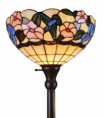 Torchiere Floor Lamp 70 Inches Tall Tiffany Style