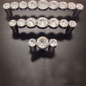 Swarovski Crystal Cabinet Knobs and Door Handles