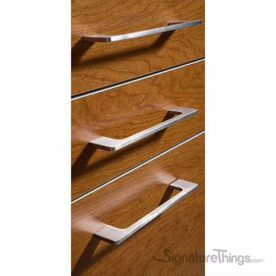 Solid Stainless Steel Thin Cabinet Pull - 6mm, Dresser Drawer furniture Handle