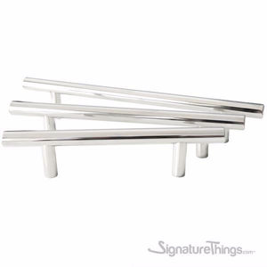 Polished Stainless Steel Bar Pull 12 MM