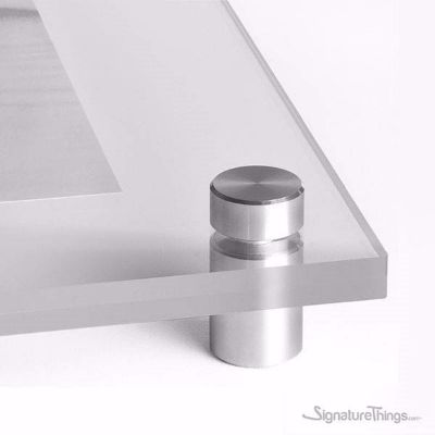 Stainless Steel Standoffs For Signs, Pictures on walls, wall sign fixing, Hold Signs.