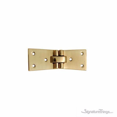 SignatureThings.com Brass Hardware Brass Concealed Hinge