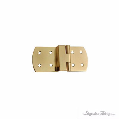 SignatureThings.com Brass Hardware Brass Spring Hinge