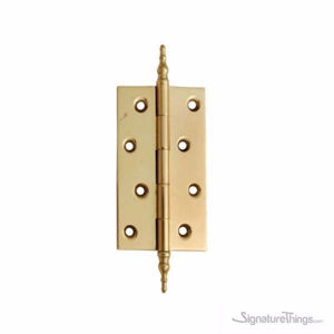Classic Brass Hinges - 3 MM Thick | Kitchen Cabinet Hinge | Door Hinges | Brass Hinges | Gifts Box Hinges | Doll House Hinge | Jewelry Box Hinge | Cabinet Door Hinges | Miniature Hinges | Kitchen Cabinet Hinges | | Butterfly Hinges | Mini Hinges | Concealed hinges | Custom Brass Hardware | SignatureThings.com