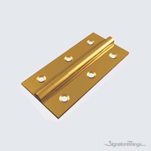 Solid Brass Butt Hinge - 1.75mm (1/16