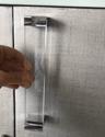 Tempered Glass Kitchen Cabinet Handles