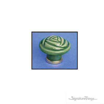 Rose Shape Ceramic Knobs