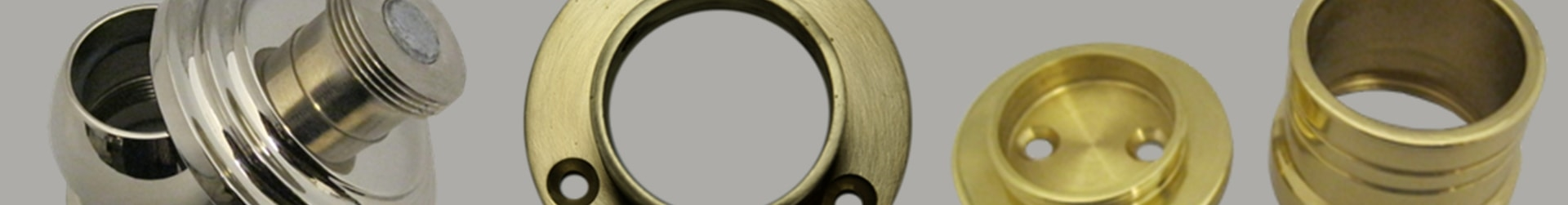Curtain Rod Flanges Closet Rods Flange Brass Curtain