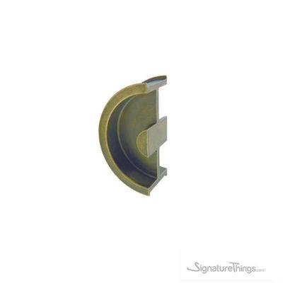 Stainless Steel Round Pocket Sliding Door Pull