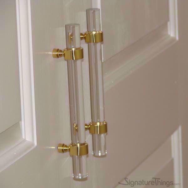 1 2 Quot Lucite Drawer Pulls Traditional Door Handles