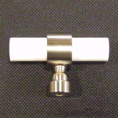Traditional Plain Ring Lucite Pulls - 1/2 D   Lucite Drawer Pulls   Lucite Cabinet Pulls   Lucite Cabinet Hardware