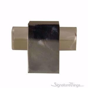 "Modern Cube Lucite Cabinet Pulls - 3/4"" Dia"