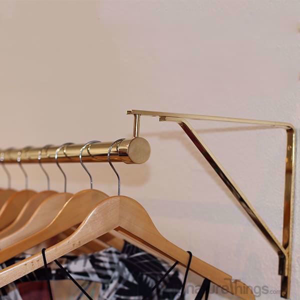 SignatureThings.com SHELF BRACKET WITH STANDARD BRACKET HANGER