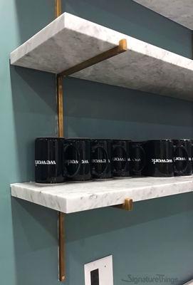 90 degree L Bracket - Heavy Duty Shelf Brackets | Adjustable Shelf Brackets | Brass Shelf Brackets | Decorative Shelf Brackets | Metal Shelf Brackets | Floating Shelf Brackets | Brass L Brackets | L Shelf Brackets | Solid Brass Brackets | Modern Shelf Bracket | Closet Shelf Brackets | Brass Hardware | SignatureThings.com