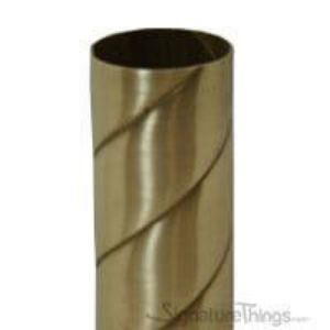 Twisted Rope Brass Tubing - 12 FT Length