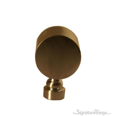 Barrel Side Brass Finials