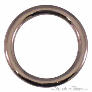 Brass Round Curtain Rings without Eyelet