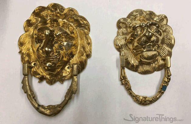 Lion Head Door Knocker | Brass Door Knockers | Front Door ...