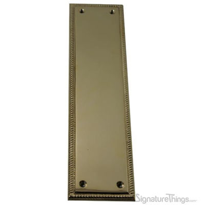 Rope Edge Push Plate - Rectangle