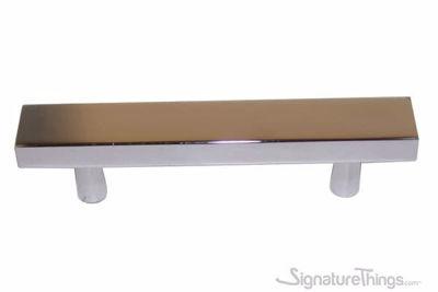 SignatureThings.com Brass Hardware Flat Rectangular Door Pull Handle