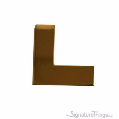 L Shaped Brass Cabinet Pulls