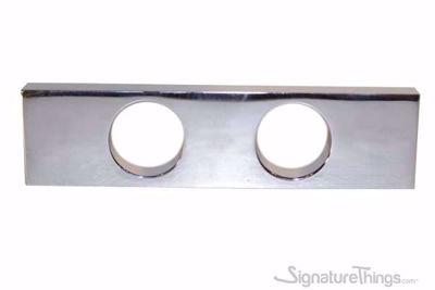Modern Rectangular Double Hole Finger Drawer Pull